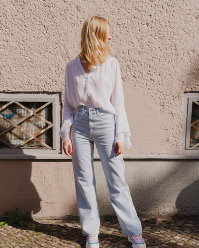Hilda Blouse in white - Broke + Schön Shop