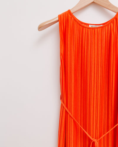 Kleid Plissée in orange - Broke + Schön Shop