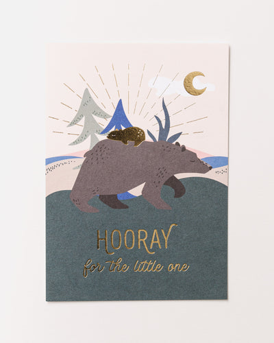 Hooray for the Little One Postcard - Broke + Schön