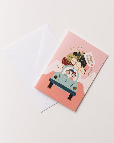 Small Greeting Card-Happy Holiday - Broke + Schön