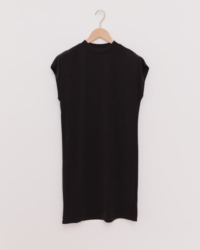 Ladies Modal Dress in schwarz - Broke + Schön Shop