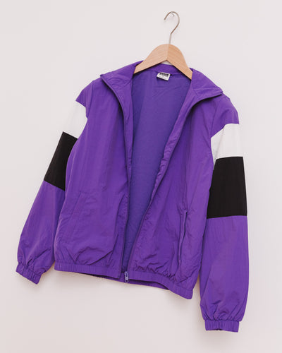 Ladies 3-Tone Crinkle Track Jacket - Broke + Schön Shop