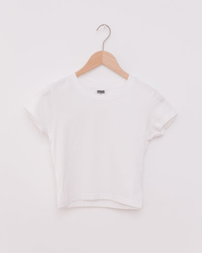 Ladies Stretch Jersey Cropped Tee - Broke + Schön Shop