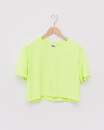 Ladies Short Oversized Neon Tee - Broke + Schön Shop