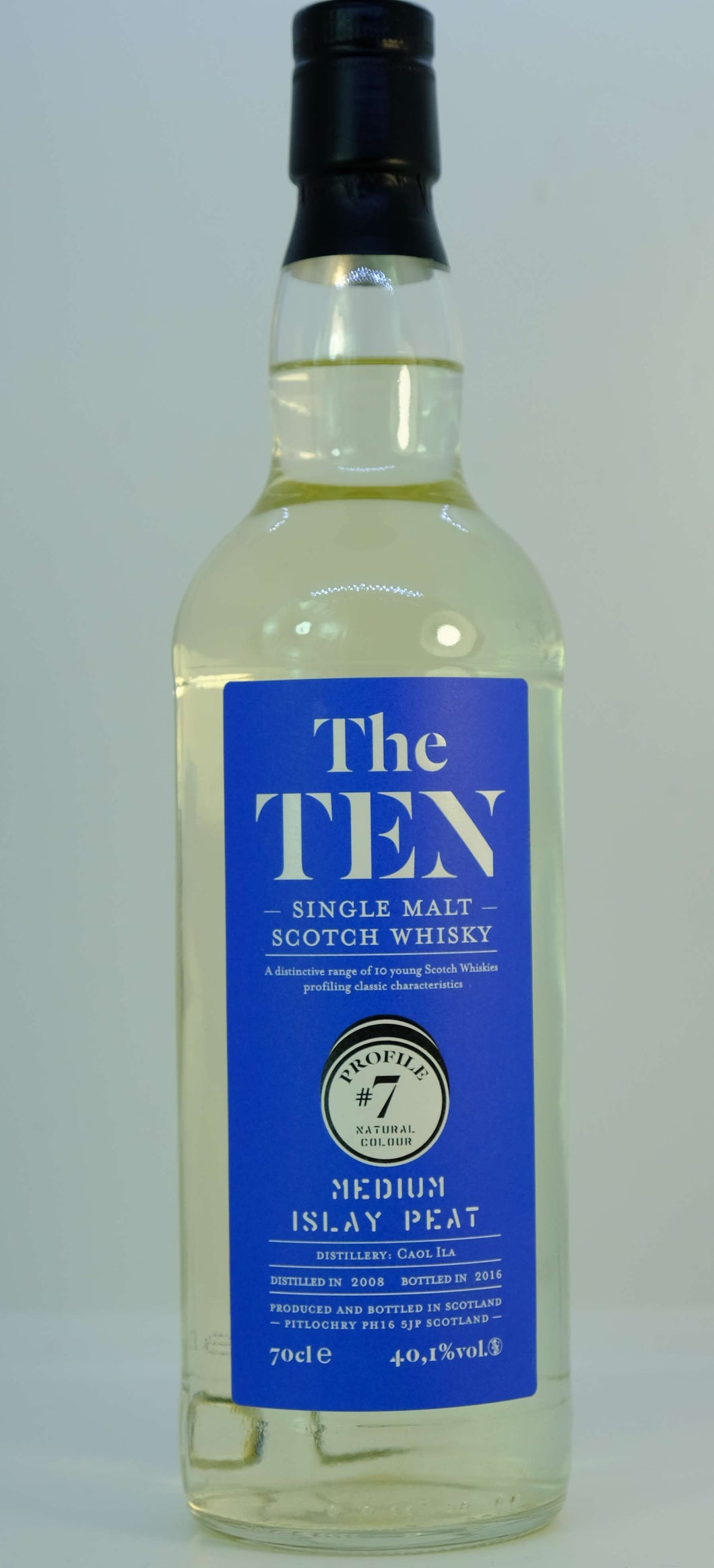 The Ten Medium Islay Peat