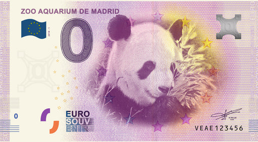 Eurosouvenir Zoo Aquarium de Madrid - Panda