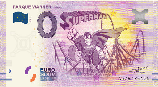Eurosouvenir Parque Warner - Superman
