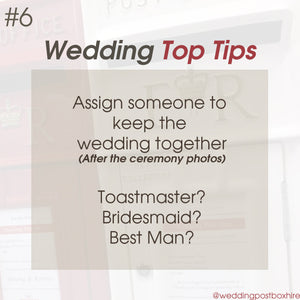 How To Add Structure to Your Wedding