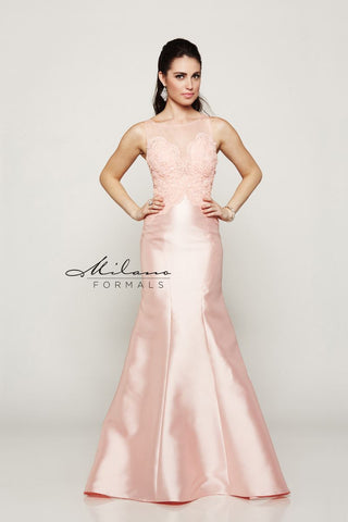 Milano Formals Mermaid Prom Dress E2017