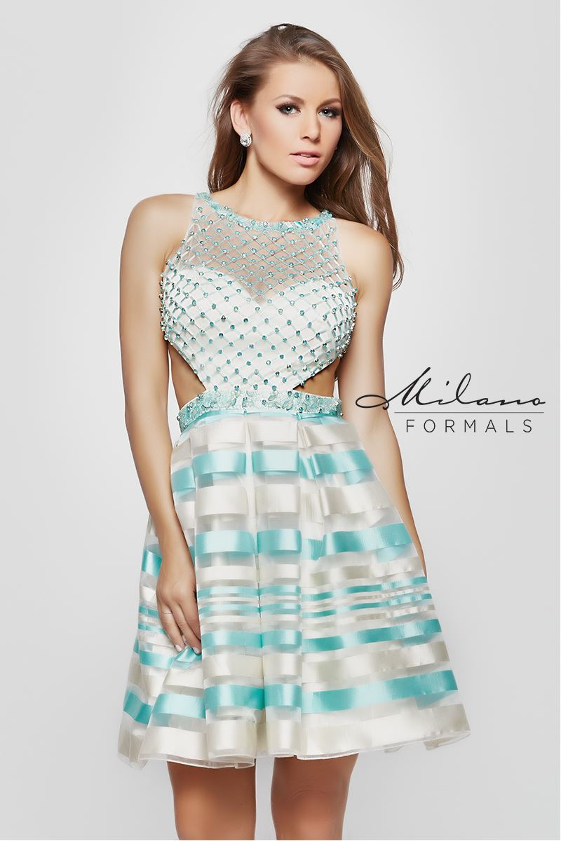 Milano Formals  E1986 Tiffany Sleeveless Dress