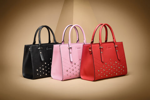 Sylvia Studded Tote Bags