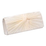 Satin flap clutch Bag 17946