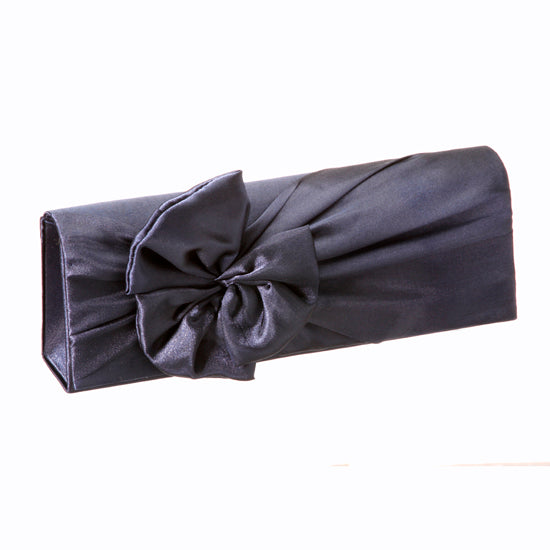 Flap Satin Bow Clutch Bag 27102