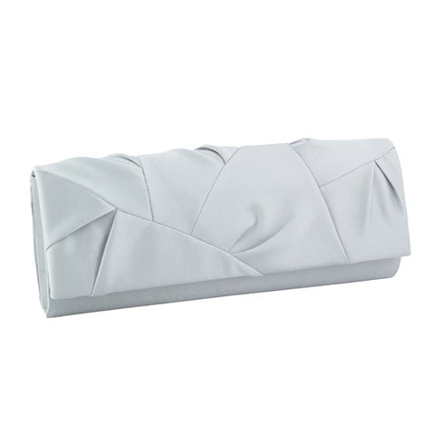 Satin Evening Bag with Patch Design 27376