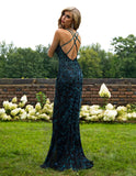 Primavera Couture 3220 Crisscross Open Back-Sided Long Gown