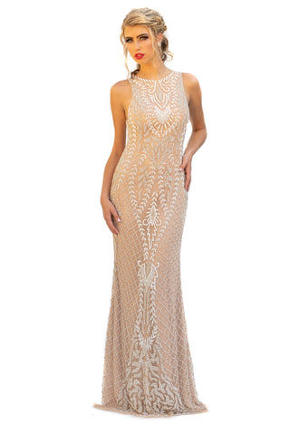 Primavera Couture 3227 Sleeveless Long Gorgeous Dress