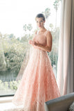 Lara 33594 Long Lace Ball Gown