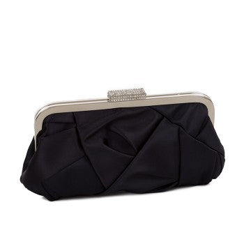 Satin Crystal Evening Bag 50009