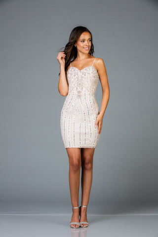 Scala 48953 Stylish Short Dress