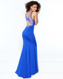 2Cute 91253 Long Backless Prom Dress