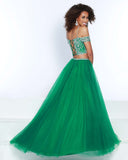 2Cute 91519 2 In 1 Off-Shoulder Prom Dress