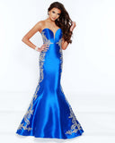 2Cute 91609 Strapless A-Neckline Mermaid Dress