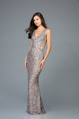 Scala 48962 Stylish Fitted Long Dress