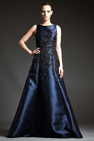Park108 M184 Mikado Demi Ball Gown