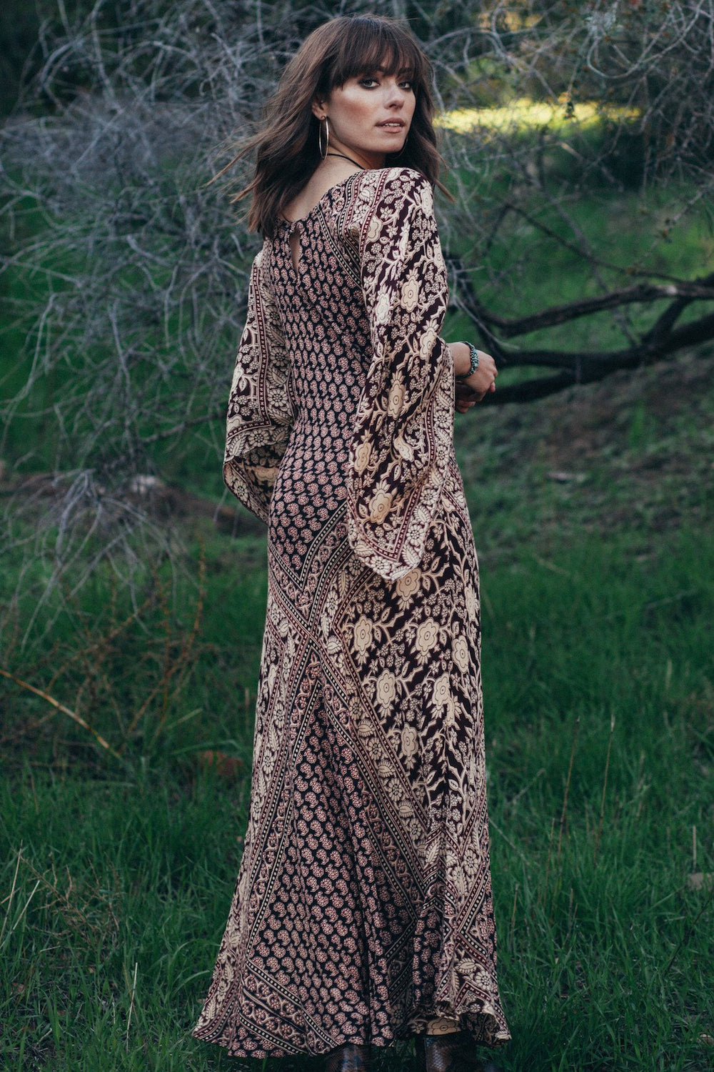 HARVEST MOON MAXI DRESS