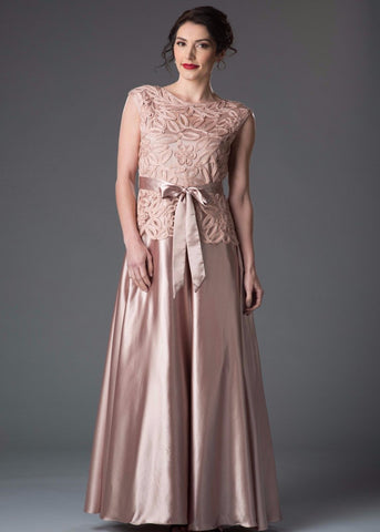 1492ce742f6 1611Soulmates Embellished Bow Evening Dress Ball Gown