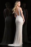 Scala 48787 Floor Touch Long Gown