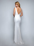 Nina Canacci 2229 Sleeveless Floor-Touch Fitted Long Dress