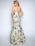 Nina Canacci 1455 Strapless Long Mermaid Dress