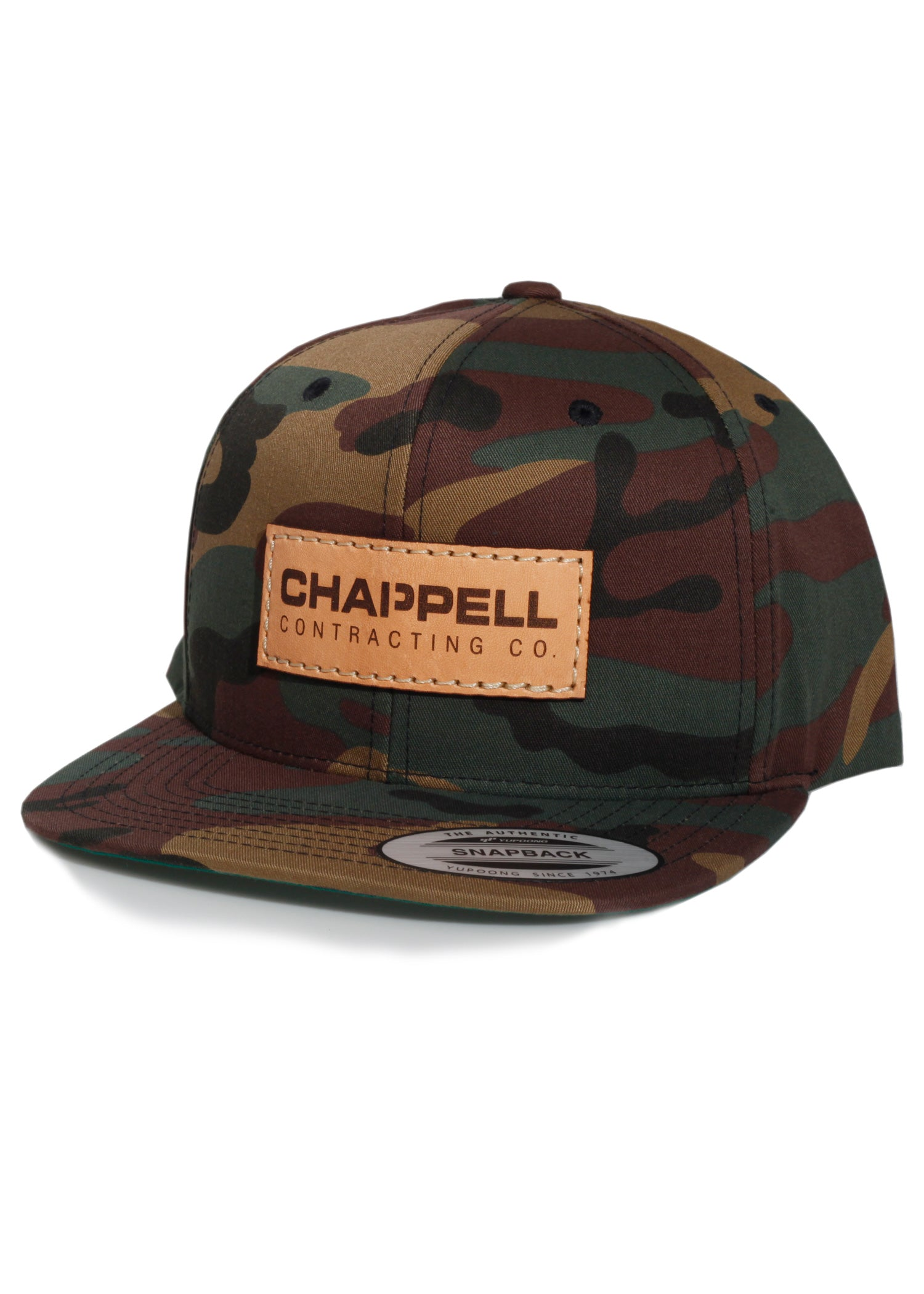 Chappell Contracting Co. - Yupoong 6089 Army Camo