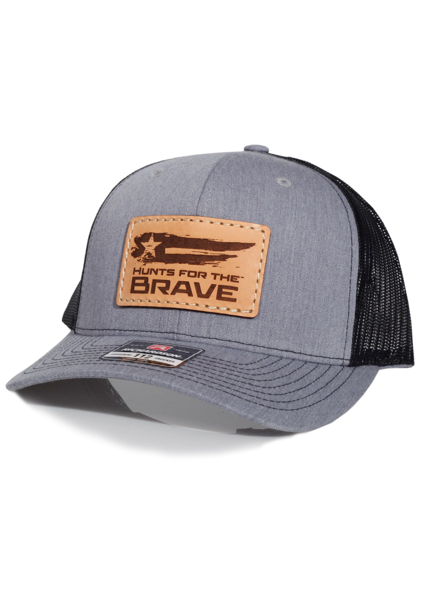 Hunts For the Brave - Richardson 112 Heather Grey/Black