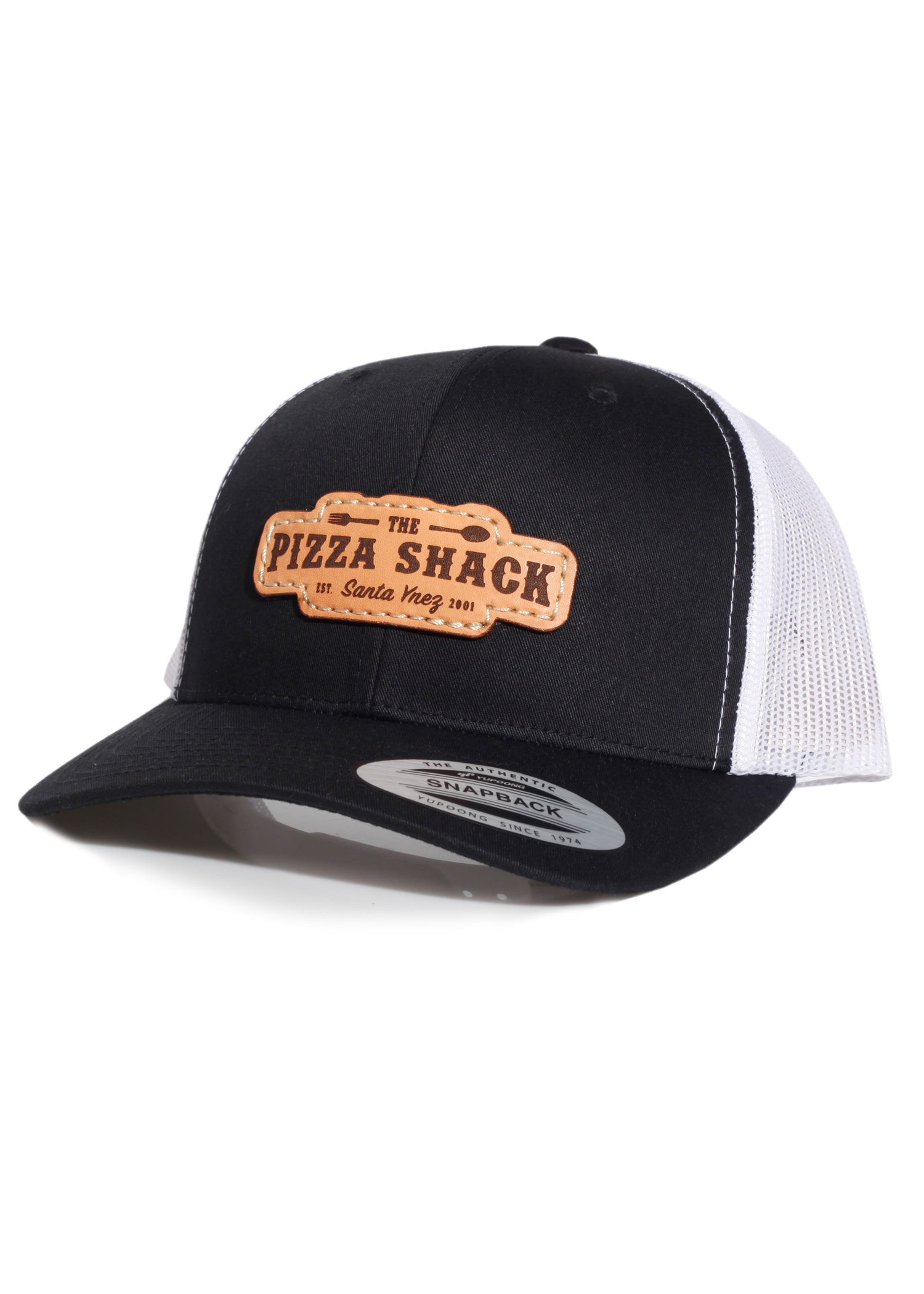 Pizza Shack - 6606 Yupoong Black/White