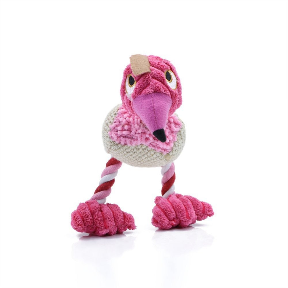 Dog Tug Bird Plush Toy