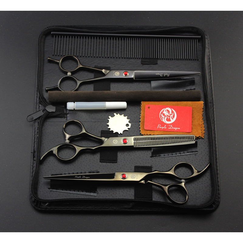 Professional Dog Grooming Scissors Set With Comb