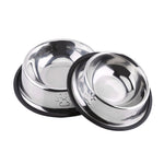 Stainless Steel Anti Slip Dog Bowl