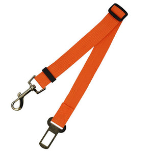 Adjustable Dog Car Safety Seat Belt Leash