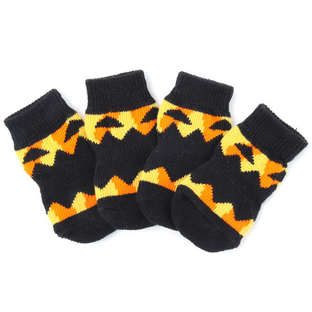 Soft Warm Dog Knitted Socks