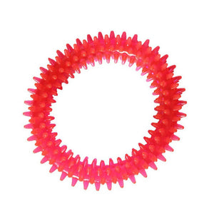 Rubber Chew Ring Dog Toy