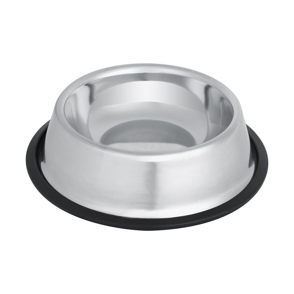 Non-Skid Stainless Steel Dog Bowl For Food And Water