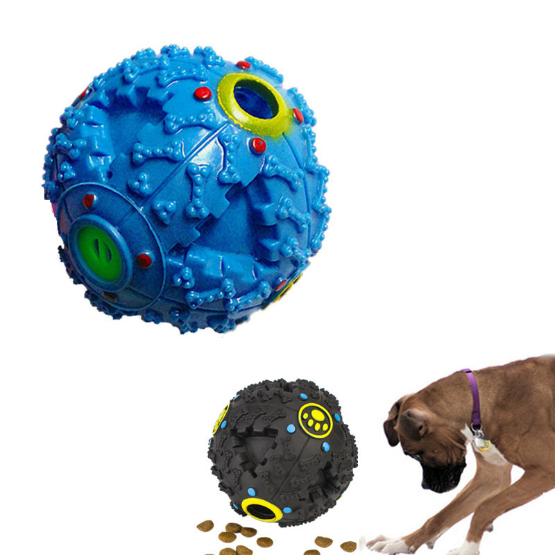 Funny Food Ball Puzzle Dog Toy