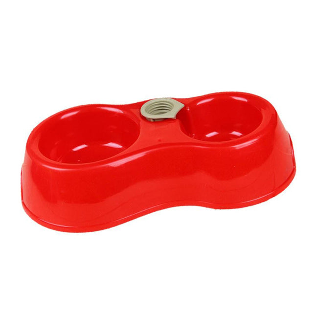 Dual Port Automatic Water Dispenser And Feeder Dog Bowl