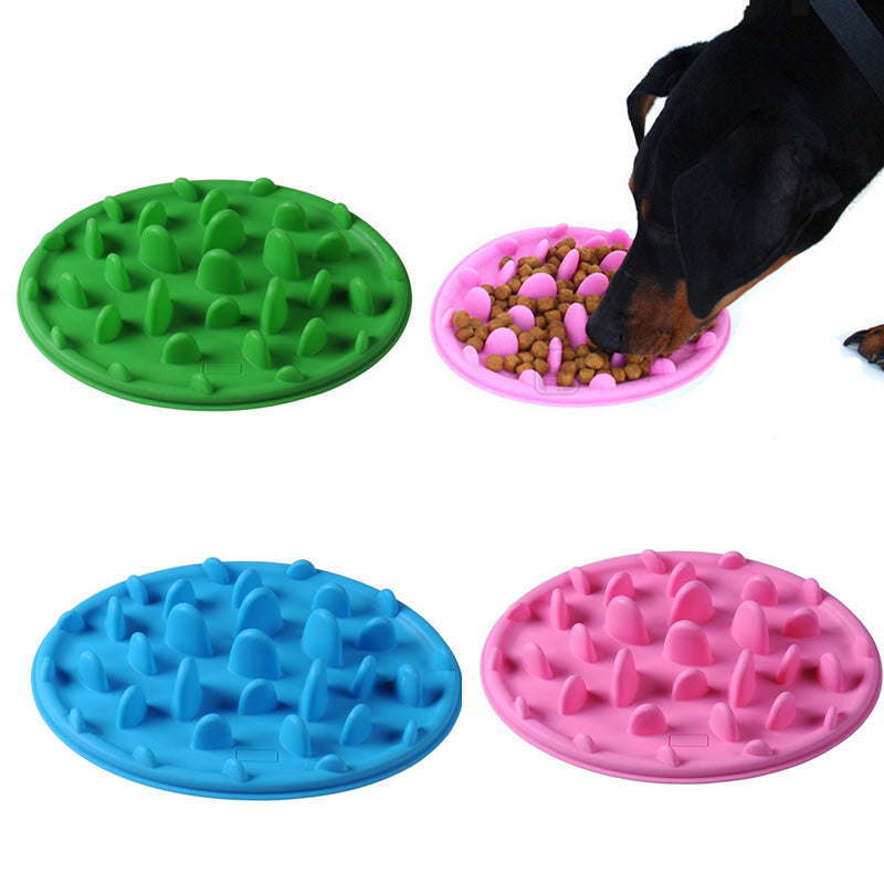 Anti Choke Slow Eating Dog Feeder Bowl