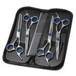 Grooming Scissors Set With Dog Comb