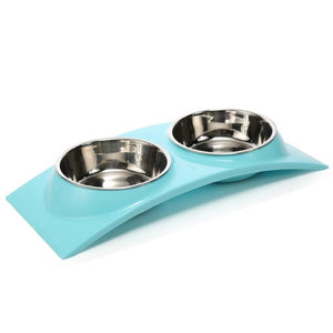 Non-toxic Stainless Steel Water And Food Leak Proof Dog Bowl
