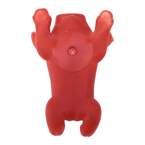 Rubber Pig Shape Dog Squeaky Chew Toy