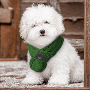 Warm Winter Dog Scarf